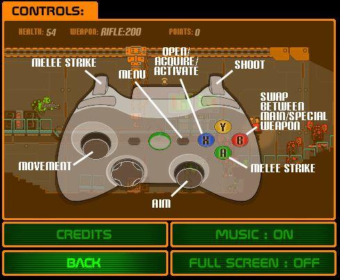 Bad Bots | Controller Controls