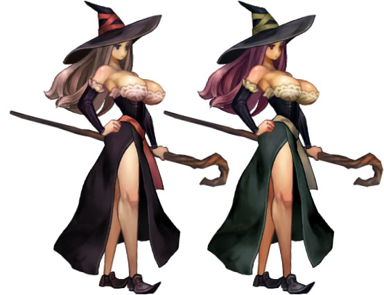 Dragon's Crown - Sorceress Palette | Crystal's Corner: Am I Sexist?