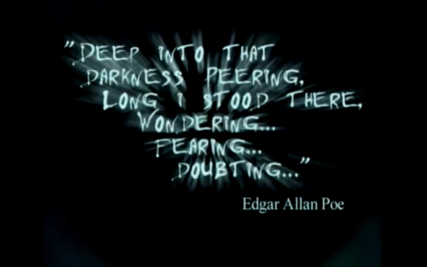 my thoughts and feelings on edgar allan poes the raven The raven edgar allan poe album the raven and other poems the raven lyrics once upon a midnight dreary, while i pondered, weak and weary, over many a quaint and.
