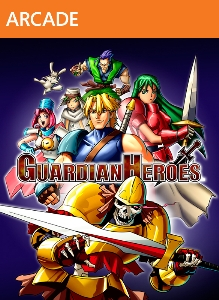 Guardian Heroes Box Art