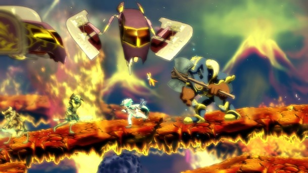 Dust: An Elysian Tail fire bridge