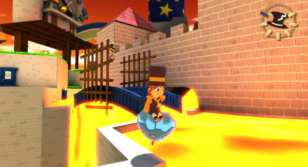 A Hat in Time - Umbrella as raft