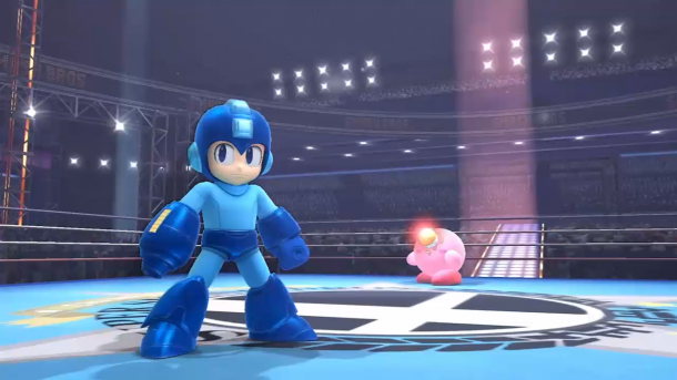 Super Smash Bros - Mega Man vs. Kirby
