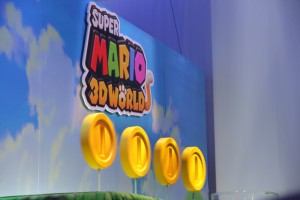 E3 2013 Nintendo Super Mario 3D Land Display Close Up