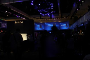 PlayStation 4 Booth