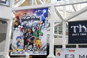 E3 2013 Kingdom Hearts 1.5 HD ReMIX banner