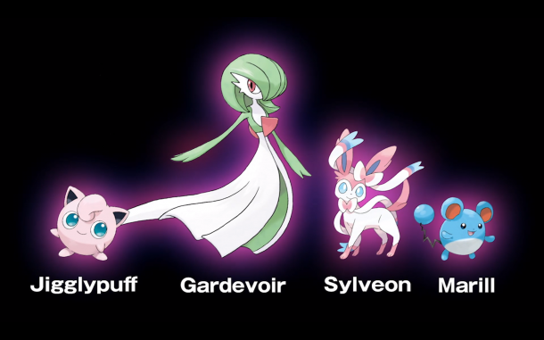 Pokémon Fairy Types