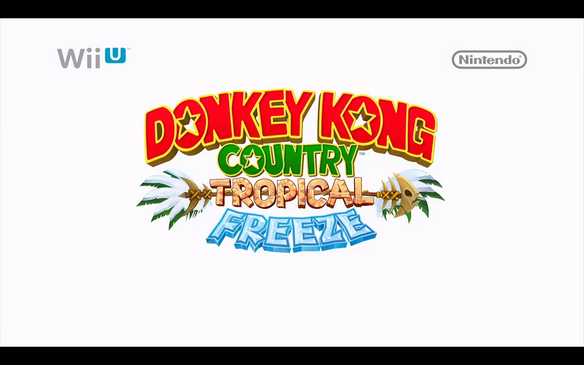 Donkey Kong Country: Tropical Freeze title