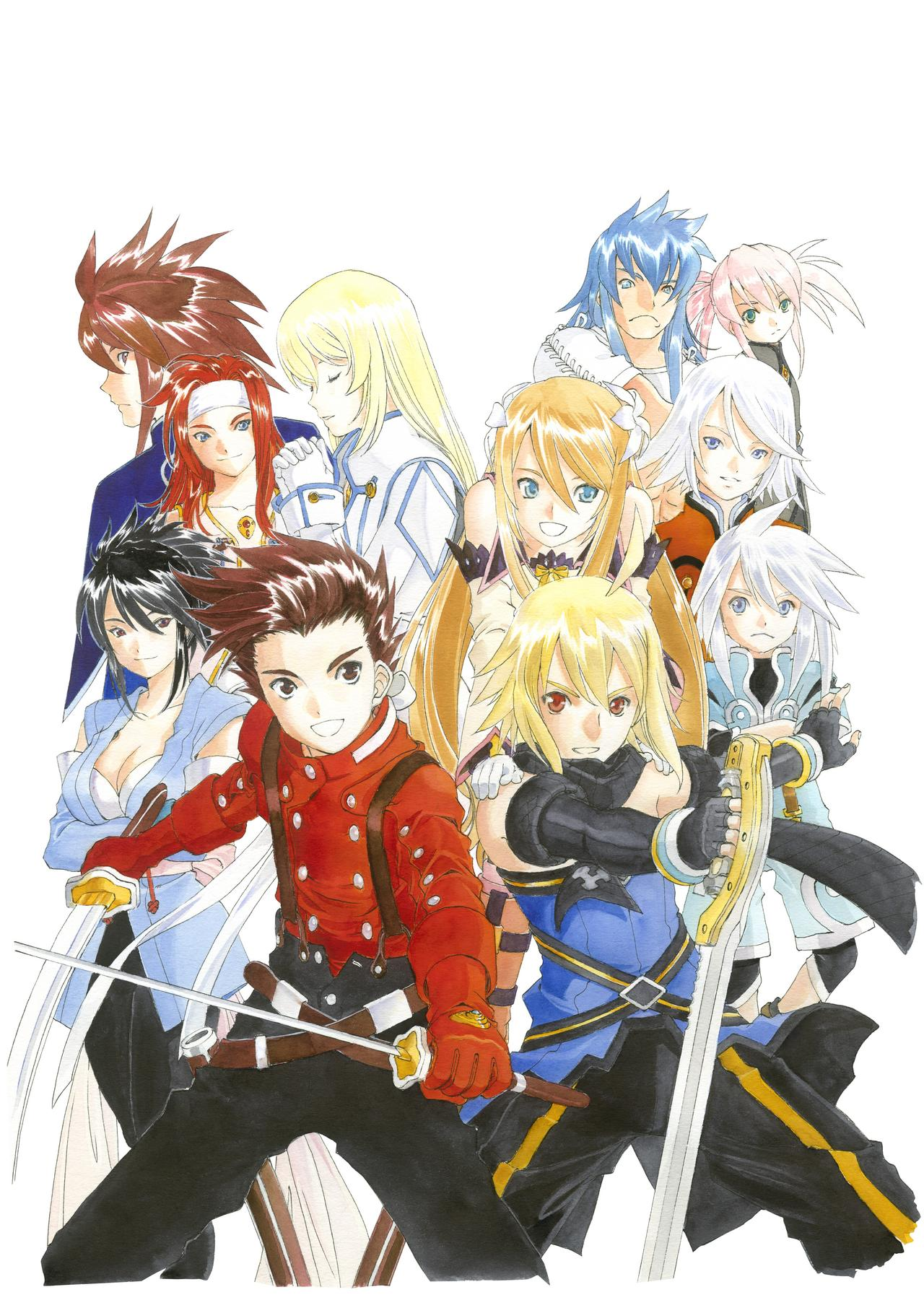 Tales of Symphonia Chronicles - Cast | oprainfall