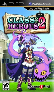 Class of Heroes 2 | Box Art