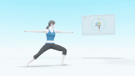 Mega Man VS Wii Fit Trainer Girl. What?
