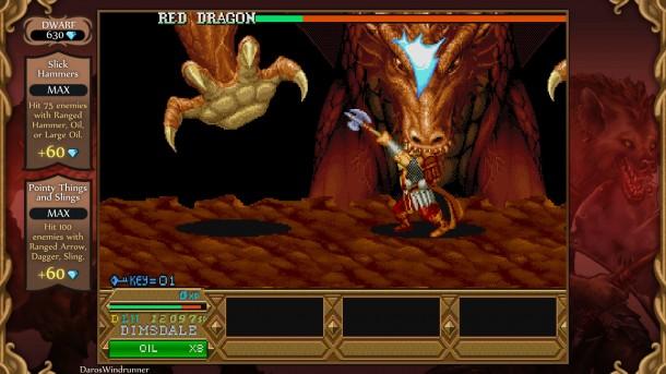 Chronicles of Mystara | Dwarf vs. Dragon