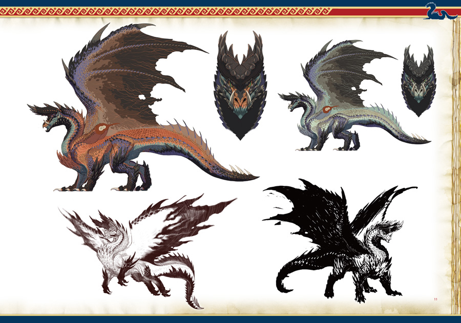 Monster Hunter Illustrations 2 MHI2_preview02