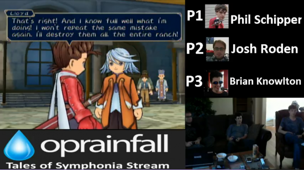 Tales of Symphonia stream—Lloyd's big line