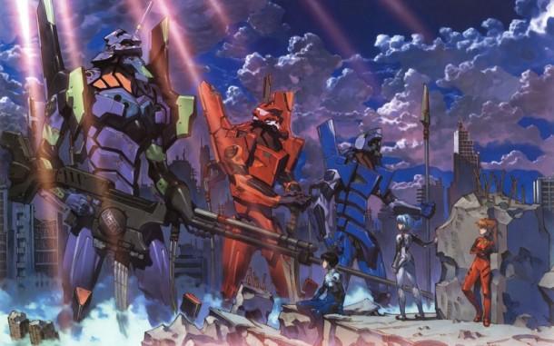 Neon Genesis Evangelion | EVA Units