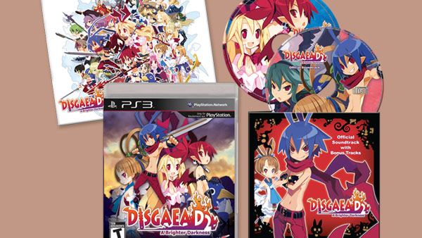 Disgaea D2 First Run Bundle