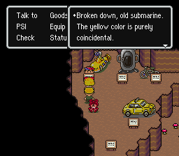 EarthBound | A Yellow Submarine