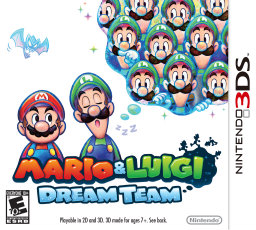 Mario & Luigi Dream Team Box