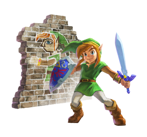 Nintendo Direct: Link Between Worlds Art 002