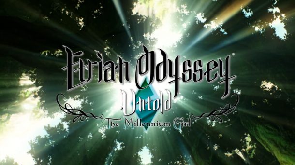 Etrian Odyssey Untold: The Millennium Girl Animation Logo - oprainfall