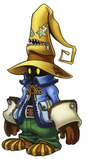 Final Fantasy IX Vivi Art