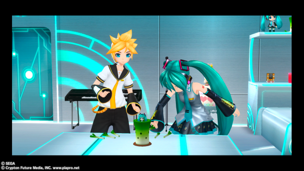 Hatsune Miku : Project DIVA F |  Diva Room Event