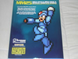 Mega Man Official Complete Works | Back cover