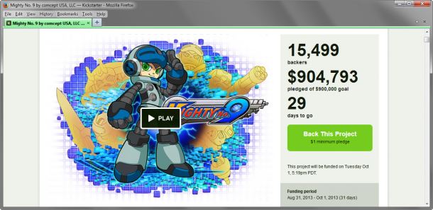 Mighty No. 9: Funding reached