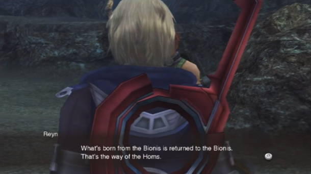 Xenoblade Novelisation 011 - Return to Bionis