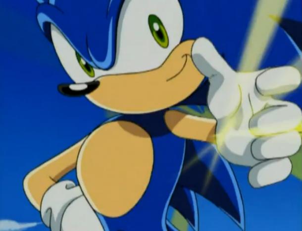 Sonic X Sonic 02