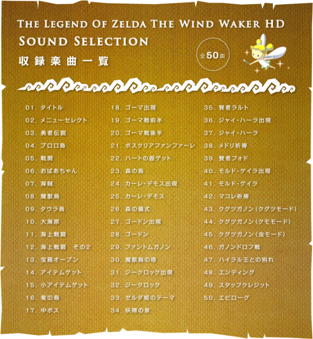 The Legend of Zelda: The Wind Waker HD OST