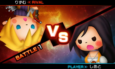 Theatrhythm Final Fantasy: Curtain Call | Cloud vs. Garnet