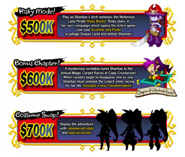 Shantae: Half-Genie Hero I Stretch Goal Sample