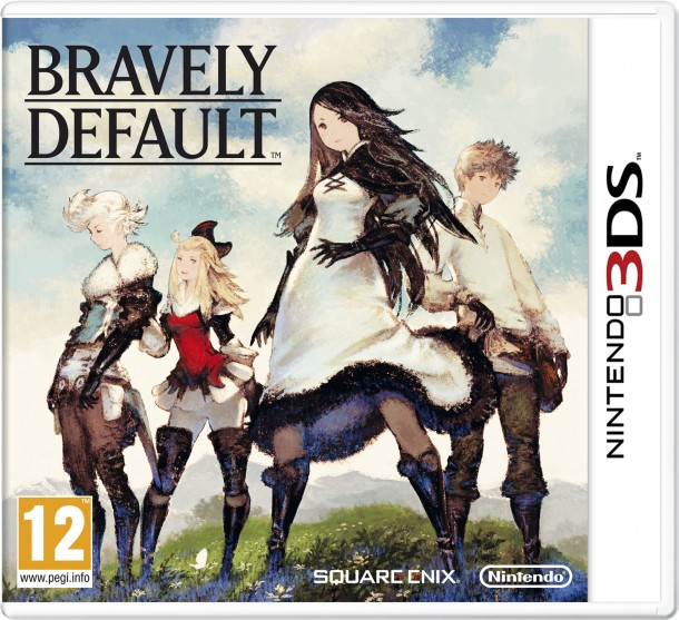 Bravely Default | Box Art (Europe)