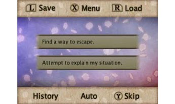 Hakuoki Memories of the Shinsengumi | Save Options