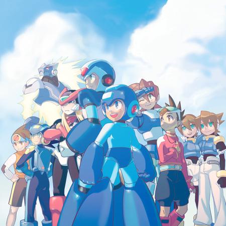 The Many Faces of Mega Man