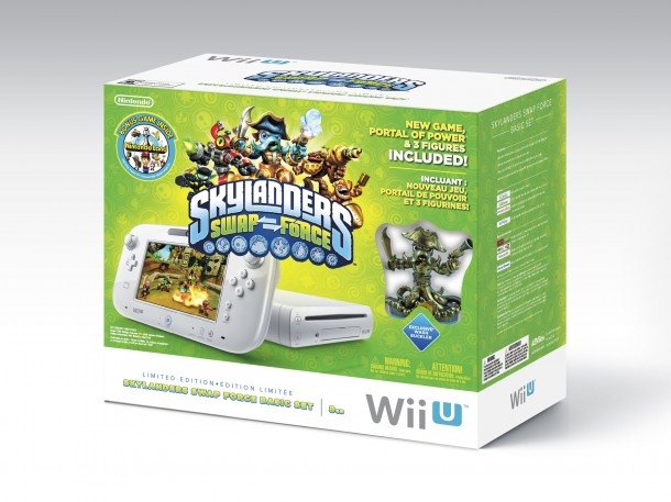 Skylanders Swap Force Wii U Bundle | oprainfall