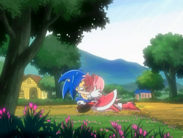 Sonic X Sonic and Amy