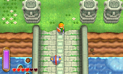 The Legend of Zelda: A Link Between Worlds - Bridging the Gap  | oprainfall