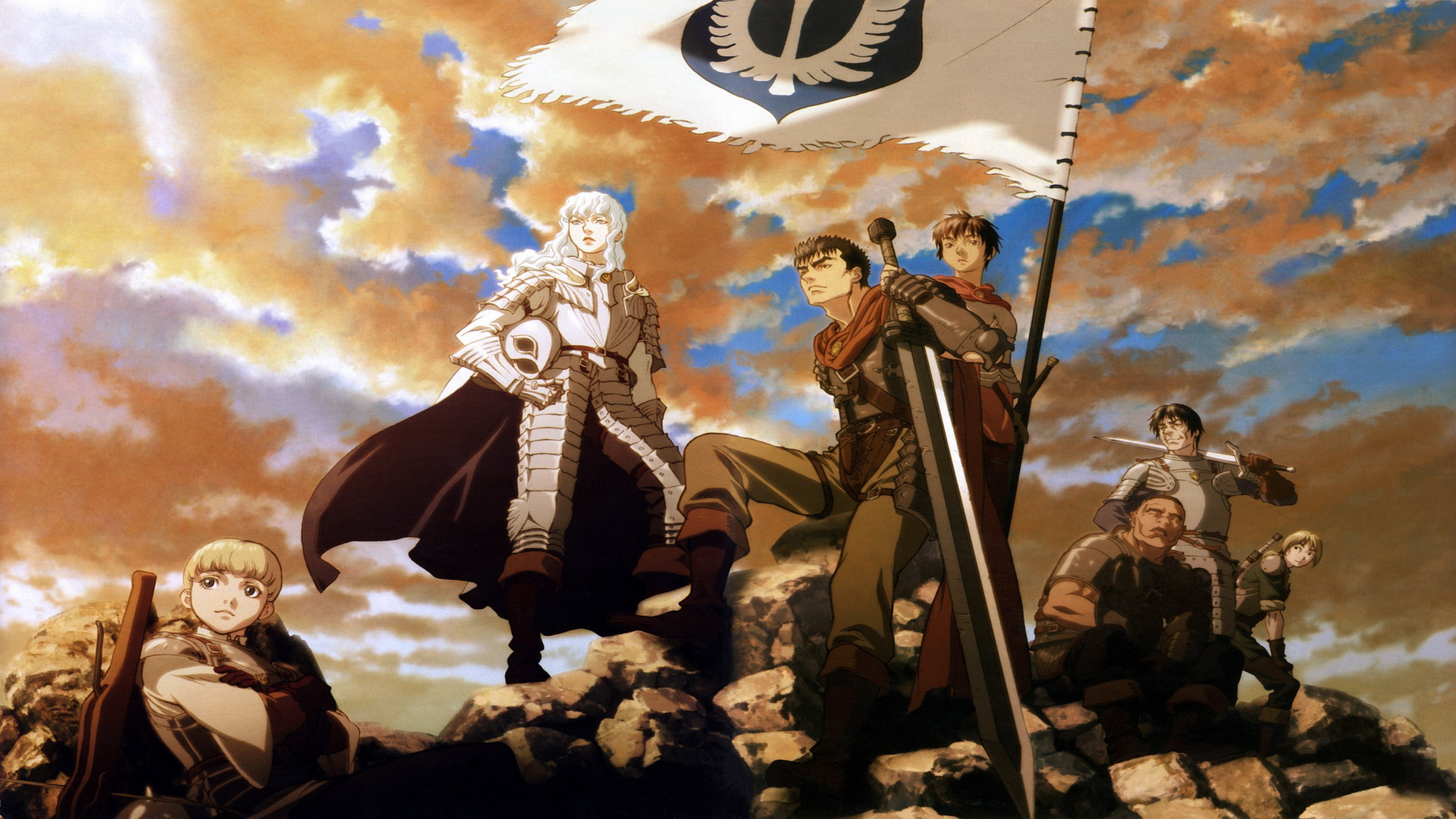 Golden Age Arc I – The Egg of the King , and Berserk: The Golden Age ...