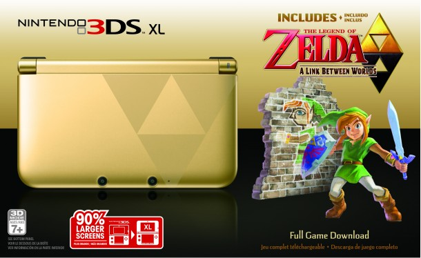 Nintendo 3DS XL - The Legend of Zelda: A Link Between Worlds Edition | oprainfall's Top Gaming Moments of 2013