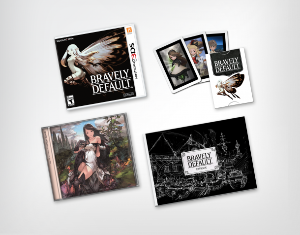 Bravely Default Limited Edition (USA/Canada)