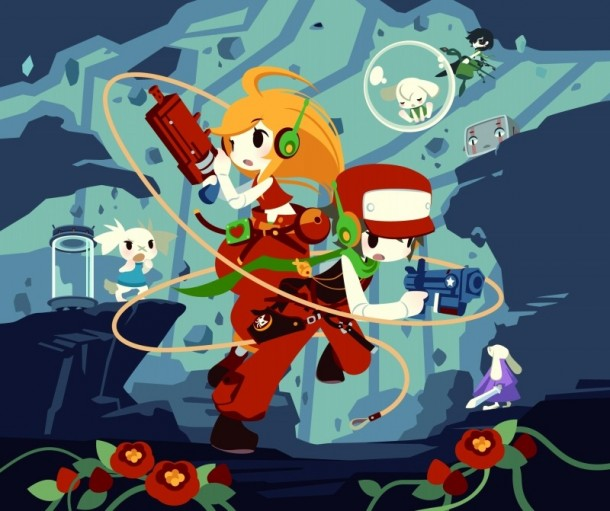 Cave Story 3D Japanese Artwork | oprainfall