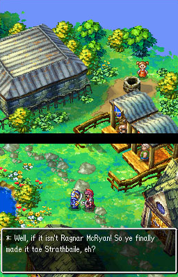 Dragon Quest IV - Ragnar's Story | oprainfall