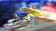 The diorama will be based on the City Escape stage from Sonic Generations.