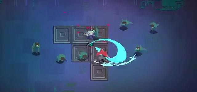 hyper light drifter combat video released