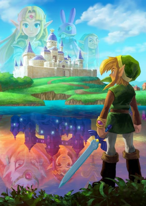 The Legend of Zelda: A Link Between Worlds - My Favorite Artwork | oprainfall