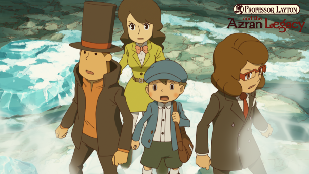 Professor Layton and the Azran Legacy | Nintendo Direct