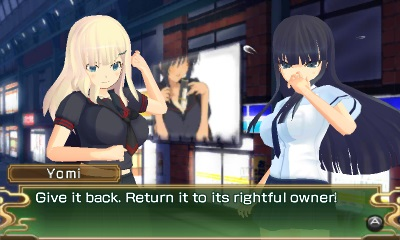 Senran Kagura Burst | Yomi and Ikaruga