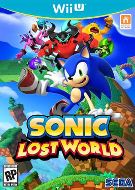 Sonic Lost World - Wii U Box | oprainfall